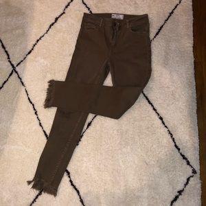 Free people brown jeans